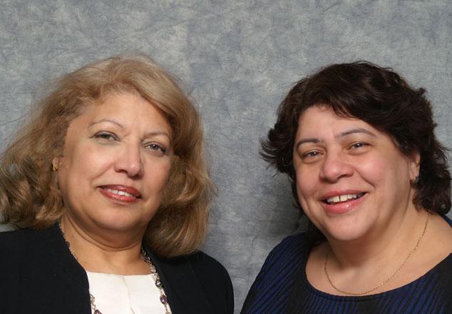 Ramona De Leon and Patricia Garcia